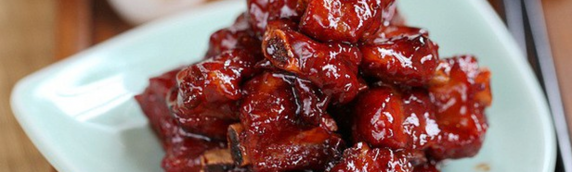 Shanghai Sweet and Sour Spare Ribs